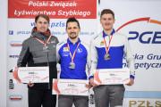 Mistrzostwa Polski w łyżwiarstwie szybkim. Artur Nogal złoto, Marcin Bachanek brąz