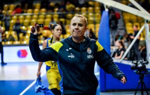 BLMA Montpellier - Arka Gdynia. Paulina Misiek zrobiła dwa kroki w tył, by pobiec