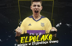 """Ekstraklasa Games. Gracjan """"El Polako"""" Gołębiewski z Arki zajął drugie miejsce"""