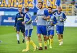 Arka Gdynia. Davit Skhirtladze wznowił treningi. Spróbuje zagrać w sparingach