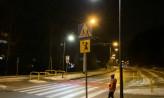 Gdynia: czujnik doświetla trzy przejścia dla pieszych