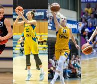 EBLK. AZS UG - AZS Lublin, Widzew - Arka, CCC - PG. 4 koszykarki w reprezentacji