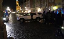 Pijany wjechał autem na Długi Targ....