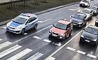 Policyjna eskorta po awarii syreny w karetce