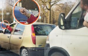 Kierowca wyciągnął nóż podczas kłótni na drodze
