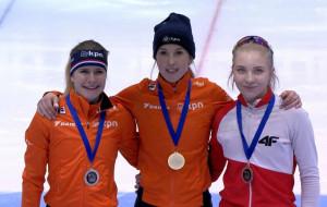 Short track. Kamila Stormowska trzecia w PŚ. Historyczny medal Stoczniowca