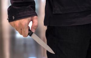 Zaatakował nożem współlokatora swojej byłej partnerki