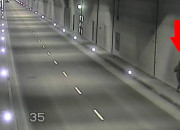 Wracał z imprezy tunelem pod Martwą Wisłą, trzeba było go eskortować