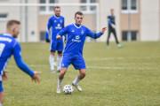 Bałtyk Gdynia - Concordia Elbląg 2:0 w sparingu. Oskar Bohm strzelił dwa gole