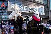 Protest przeciwko kaszmirowi w sklepach