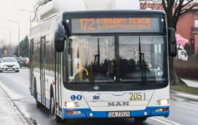 Nowa trasa linii 172 zamiast szkolnego autobusu na Chwarznie