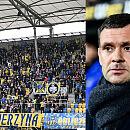 Aleksandar Rogić apeluje do kibiców: Więcej szacunku dla piłkarzy Arki Gdynia