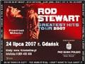 Znamy szczegóły koncertu Roda Stewarta