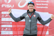 Marcin Bachanek akademickim mistrzem świata w łyżwiarstwie szybkim