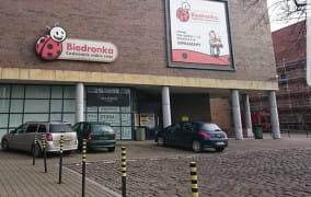 Pobicie przed Biedronką w centrum Gdańska