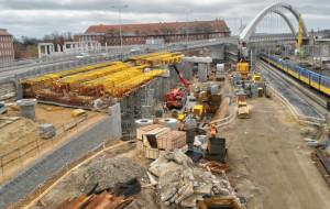 W czerwcu będzie widoczna druga nitka wiaduktu Biskupia Górka