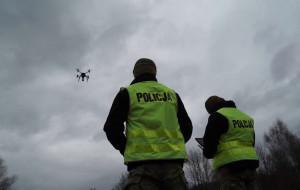 Policjanci patrolują Trójmiasto z drona