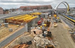 Do końca czerwca druga nitka wiaduktu Biskupia Górka