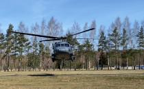 Śmigłowiec Black Hawk patroluje Trójmiasto