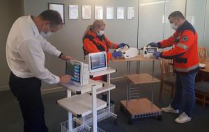 Sprzęt dla szpitali od Loży Gdańskiej BCC
