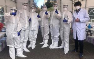 Pracownicy PG produkują przyłbice dla gdyńskiego szpitala