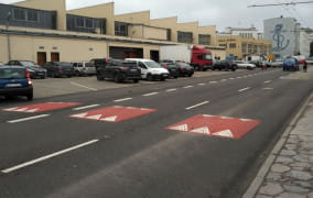 Nowe przejście przy halach targowych w Gdyni