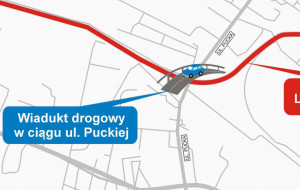 Wiadukt na ul. Puckiej w Gdyni: niebawem przetarg na projekt