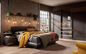 Luksusowa aranżacja sypialni