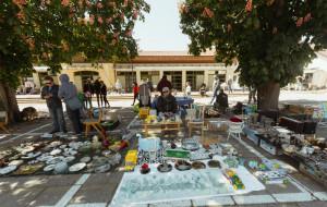 Pchli targ i food trucki co weekend na rynku w Oliwie