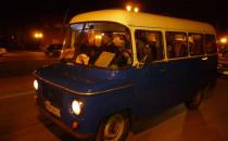 Nocny rajd zabytkowych aut śladem ikarusów