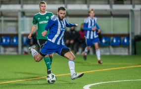 GOSRiT Luzino - Bałtyk Gdynia 1:5. Michał Marczak strzelił 2 gole po powrocie