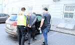 Skradziony mercedes odzyskany po pościgu