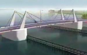Samorząd województwa dołoży 40 mln zł do mostu w Sobieszewie