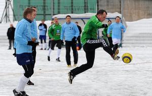 Noworoczne mecze piłkarzy i rugbistów 2012