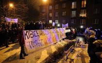 Przeciwnicy ACTA doszli pod dom Donalda Tuska