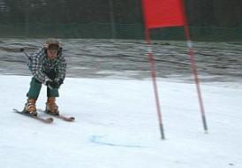 Rośnie popularność slalomów na Łysej Górze