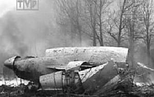 W katastrofie lotniczej zginął prezydent Lech Kaczyński i 95 osób