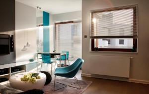 Nowoczesny minimalizm: funkcjonalne 47 m kw.