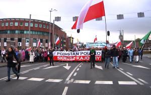 Marsz w obronie Telewizji Trwam przeszedł ulicami Gdańska