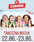 Sportowo-taneczna nocka dla dzieci w Studiu Tańca SIEMANKO