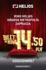 Bilety do kina Helios! 14,50 zł!