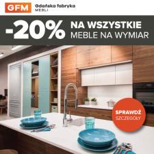 -20% na wszystkie meble w Gdańskiej Fabryce Mebli