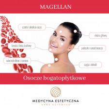 Osocze bogatopłytkowe Magellan w super cenie! Twarz + szyja + dekolt!