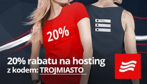 20% rabatu na hosting!