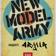 New Model Army / support: Armia