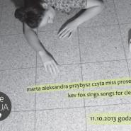 Marta Aleksandra Przybysz czyta miss prosektorium