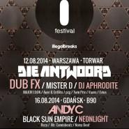 i festival: Andy C / Black Sun Empire / Neonlight