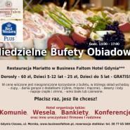 Niedzielne Bufety Obiadowe w BEST WESTERN PLUS Business Faltom Hotel  Gdynia***