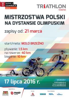 Triathlon Gdańsk - Mistrzostwa Polski