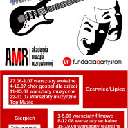 Artystyczne wakacje - Muzyka, Fim i Teatr w Akademii Muzyki Rozrywkowej w Gdyni